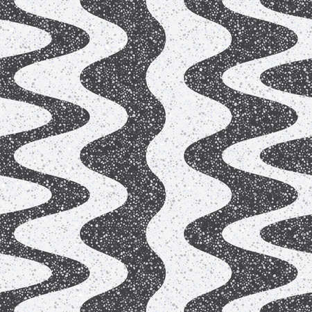 Tiles made of natural stone. Small geometric texture of the treated stones and pebbles. Strict, contrast, monochrome shades of colors. Seamless pattern for the floor and walls in the bathroom.