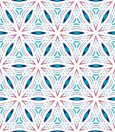 Abstract seamless mosaic with kaleidoscopes. Psychedelic seamless patterns. The colors blend seamlessly into each other.
