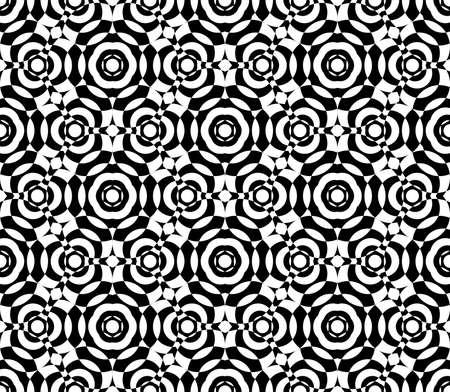 Abstract seamless pattern with kaleidoscope. Symmetric patterns of reflections of figures. Vektoros illusztráció