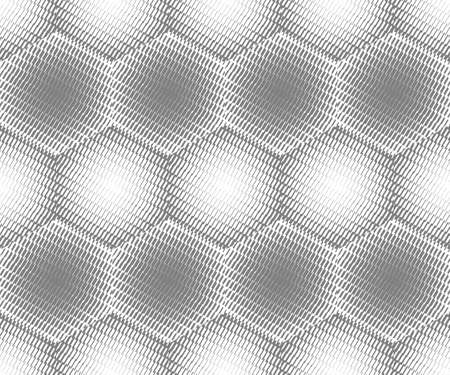 Abstract seamless pattern. Optical illusion of the movement of geometric shapes. Illusztráció