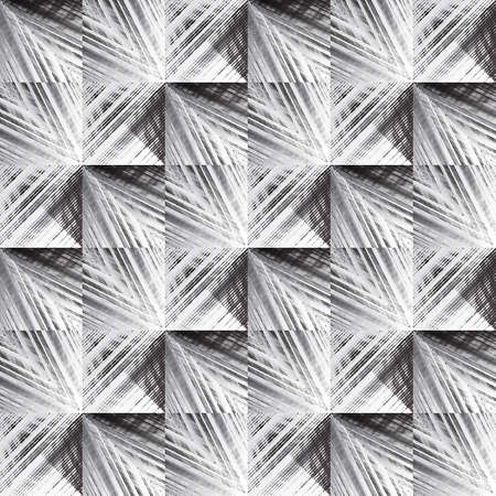Abstract seamless pattern of many lines. Geometric texture.