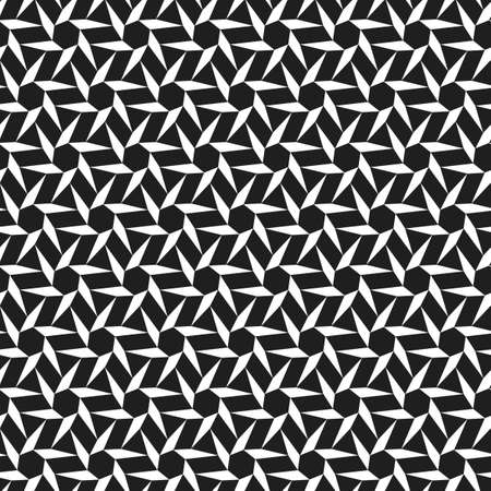 Abstract geometric seamless pattern. Optical illusion of the movement of figures. Reklamní fotografie - 132095084