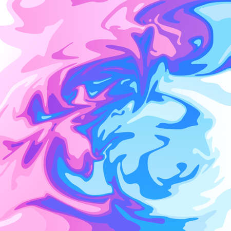 Bright streaks of paint. Fun mood. Bright joyful background for your design. Ilustrace