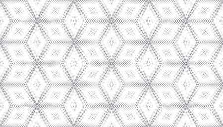 Abstract seamless pattern of geometric shapes. Stars in a hexagonal grid. 版權商用圖片 - 134808611