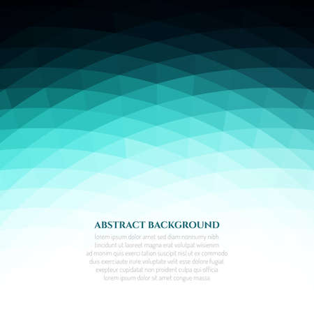 Abstract geometric background with a texture of triangles. Bright colours. Green clear glass.