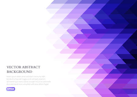 Abstract geometric texture from triangles. Images for the design of presentations, printing, business cards. Stock fotó - 134982809