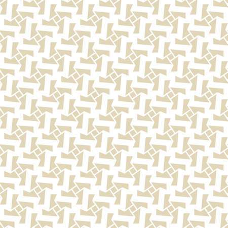 Abstract seamless pattern of rotating geometric shapes. Pattern for your design fabric or wallpaper.