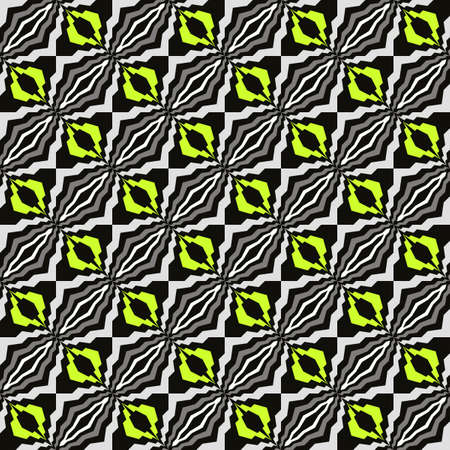 Bright abstract seamless pattern for fabrics and wallpapers. Ilustração