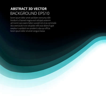 Abstract background divided into two parts. Element for your design presentations or brochure. Ilustração