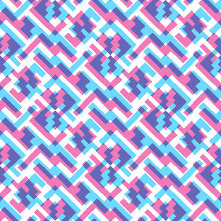 Abstract seamless pattern. Bright element for your clothing design.