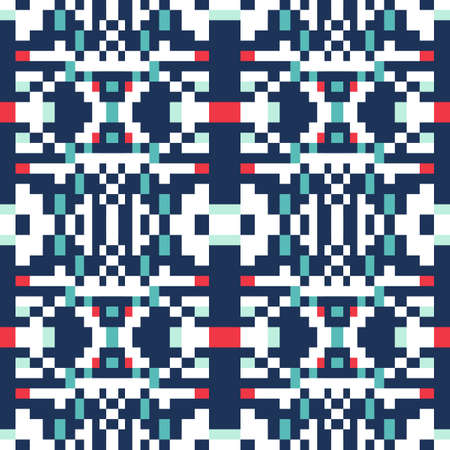 Abstract seamless pattern of geometric shapes. Pattern for your design of clothes, home textiles or wallpapers.