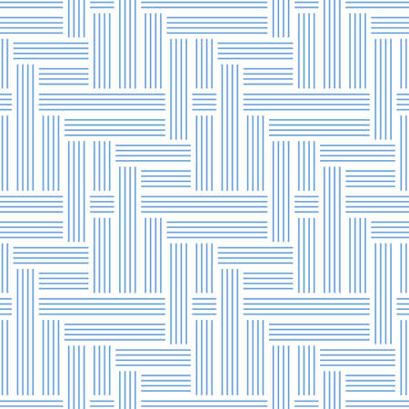 Abstract seamless pattern of lines. Optical illusion of overlaying and crossing lanes. Illusztráció