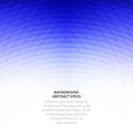 Abstract background with geometric texture. Saturated blue on a white background.