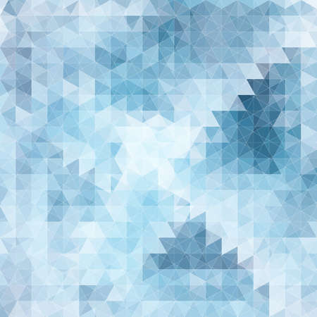 Abstract seamless pattern with texture of triangles.