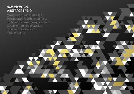 A bright abstract background with a geometric texture of triangles. Çizim