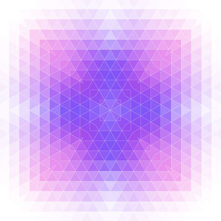 Abstract bright background with blurred geometric shapes. Çizim