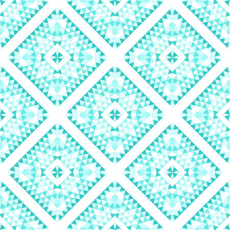 Abstract seamless pattern on a white background. Strict geometric texture.