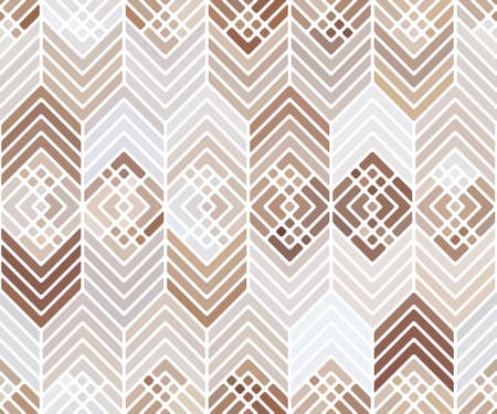 Abstract seamless pattern with figures and lines. Foto de archivo - 168184910