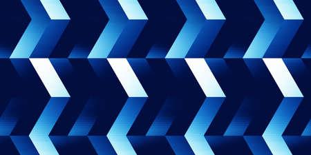 A seamless abstract pattern of many elements. Фото со стока - 168184912