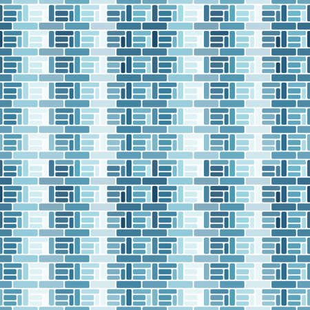 A seamless pattern of simple blocks and lines. Фото со стока - 168184917