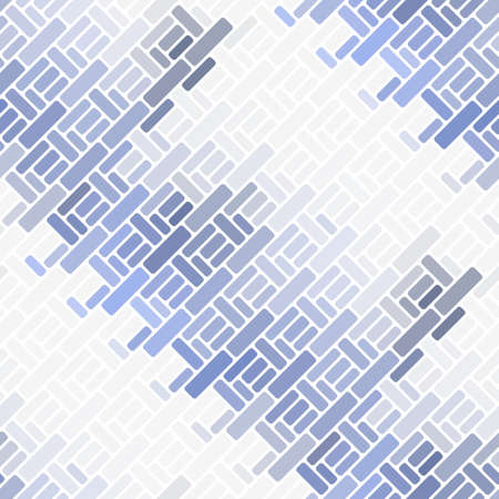 Bright abstract dynamic seamless pattern of shapes