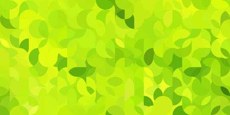 Colorful bright geometric pattern in green colors Foto de archivo - 168185441