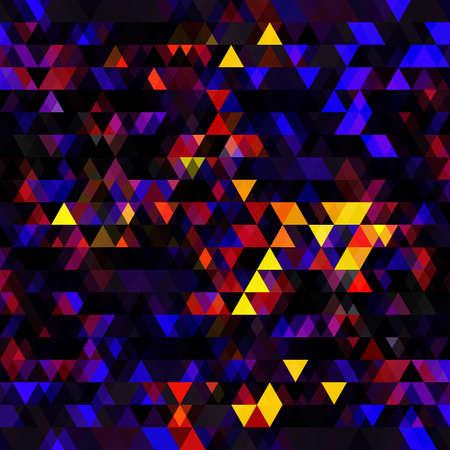 Dark bright, multicolor and rainbow vector image Иллюстрация