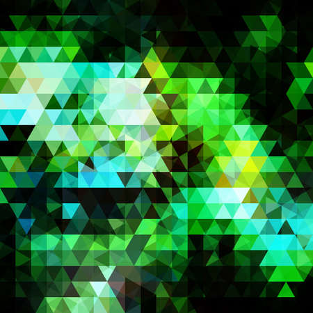 Light Blue, Green vector background with triangles Фото со стока - 168185446