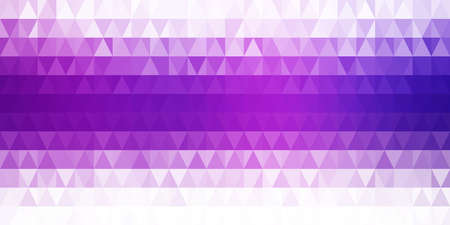 Purple vector square shapes on white background.