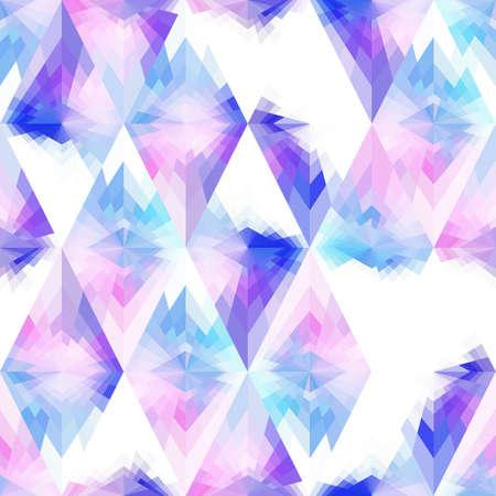 A seamless bright pattern. White, pink, purple. Иллюстрация