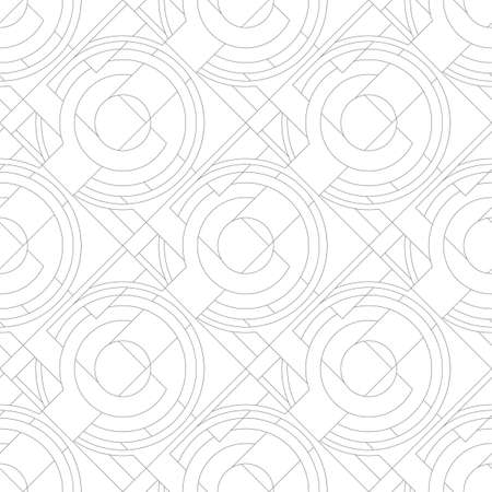 A seamless pattern with gray details, lines. Фото со стока - 168185666