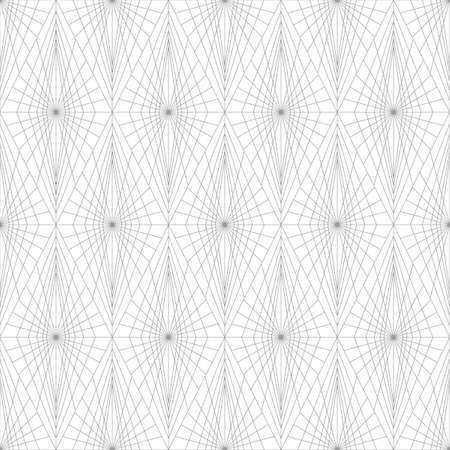 Monochrome gray pattern of fine lines and forms. Иллюстрация