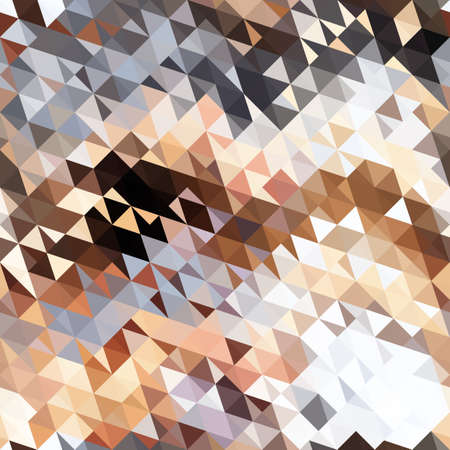 Abstract image with texture of light, triangles. Иллюстрация