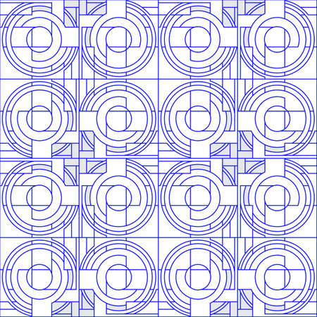 A seamless pattern with purple details, lines.