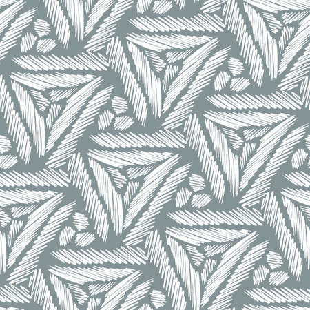 Pattern with simple shapes for your design. Иллюстрация