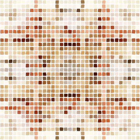 Pattern of mosaic in a modern style.