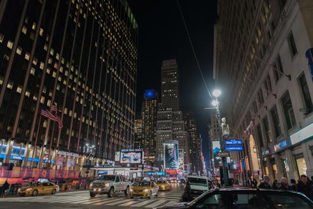 Manhattan at night Publikacyjne