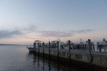 Saybrook Point at sunrise, Connecticut