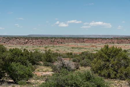 Beautiful New Mexico wilderness vista in springtime