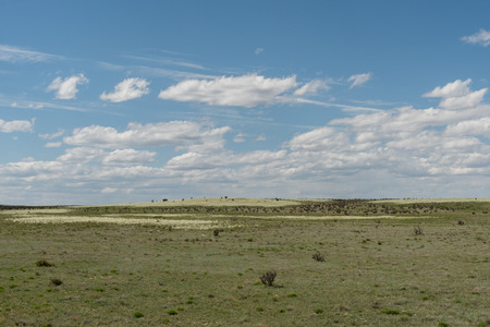 Beautiful New Mexico vista in springtime Banco de Imagens