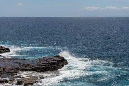 Stunning Lanai lookout vista on Oahu, Hawaii