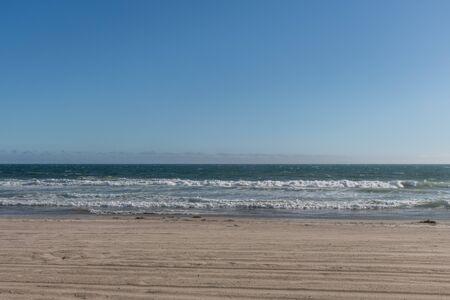 Beautiful sunny day at the Zuma beach, Malibu, Southern California Banco de Imagens