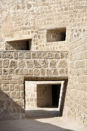 Open doors and windows in Bahrain Fort photo