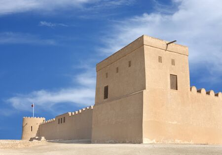 Southern tower of Riffa Fort Bahrain Stock Photo - 14340865