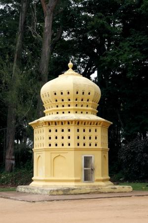 Beautiful Dovecote near the entrance of the Daria Daulat, Tipu Sultan Summer Palace Stock Photo - 15113731