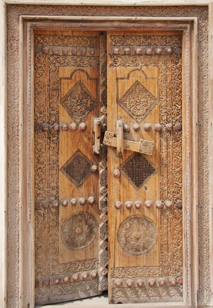Traditional ancient door