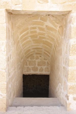 passageway: Underground passageway in Bahrain fort Stock Photo