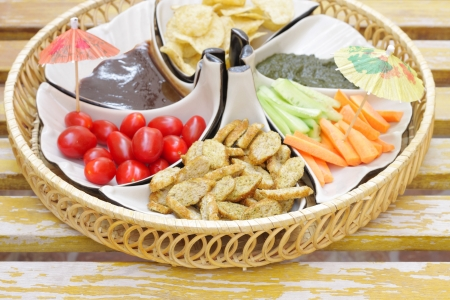 Delicious appetizer at shallow depth of focus Stock Photo - 15179133