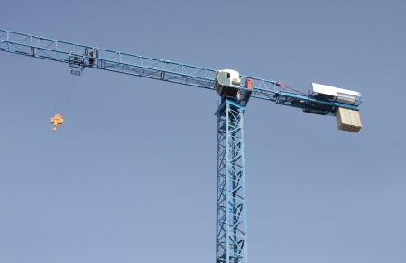 highrise crane   Stock Photo - 15265892
