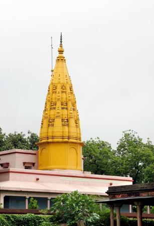 sarnath: Beautiful Digamber Jain Temple at Sarnath, India